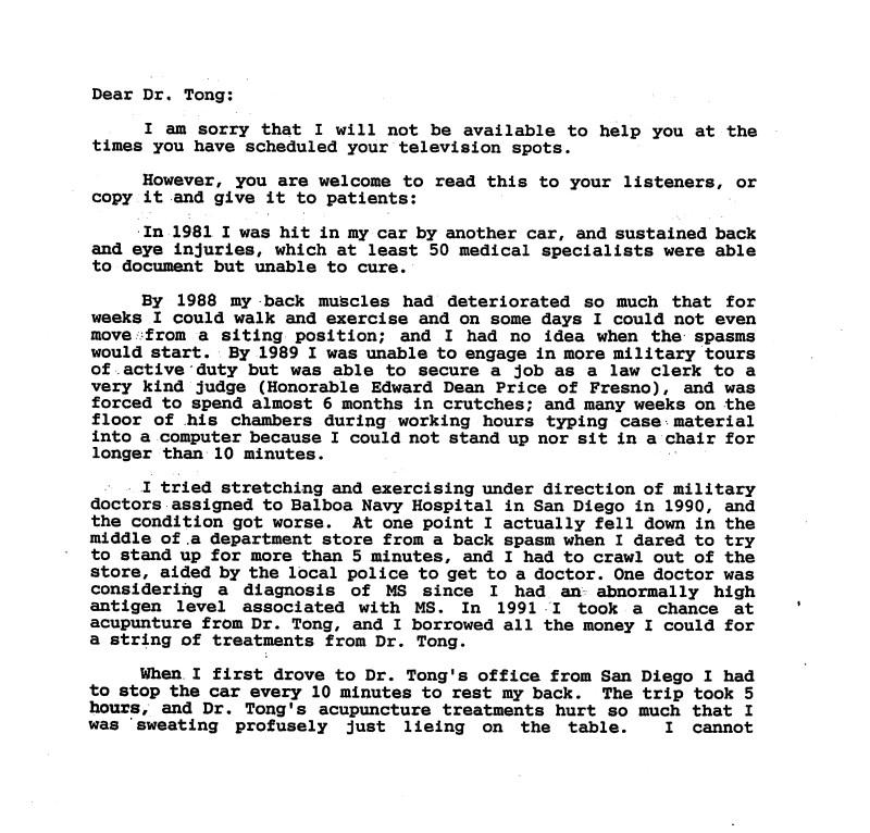 24.1 - Dr Tong Testimonial Letter