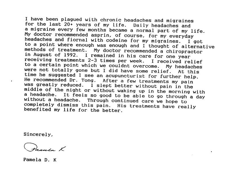 25 - Dr Tong Testimonial Letter