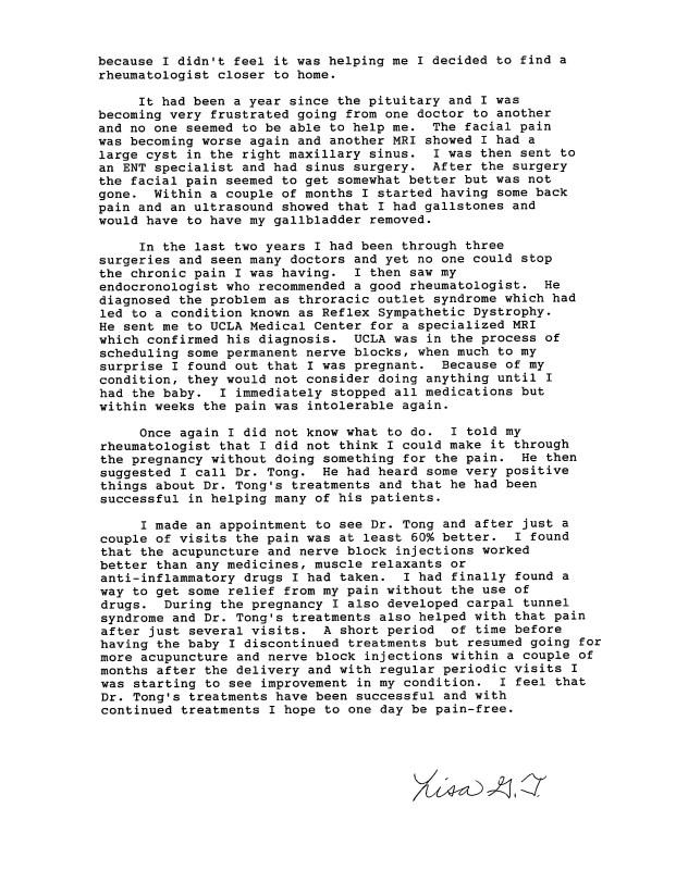 28.2 - Dr Tong Testimonial Letter