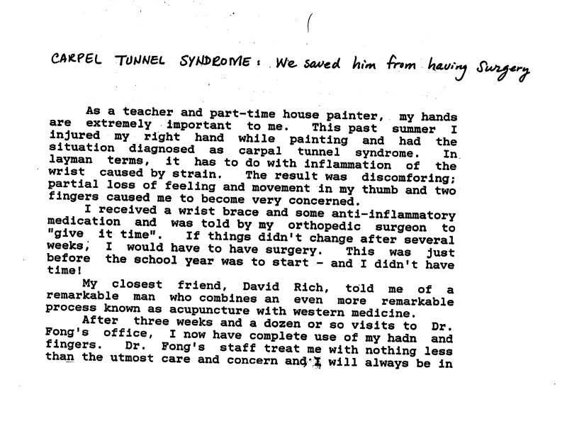 33 - Dr Tong Testimonial Letter