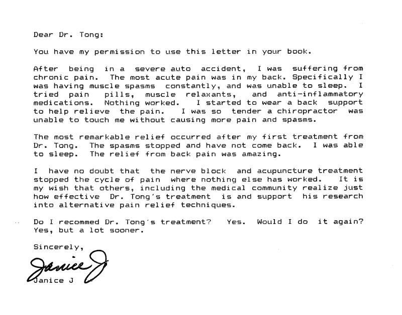 35 - Dr Tong Testimonial Letter