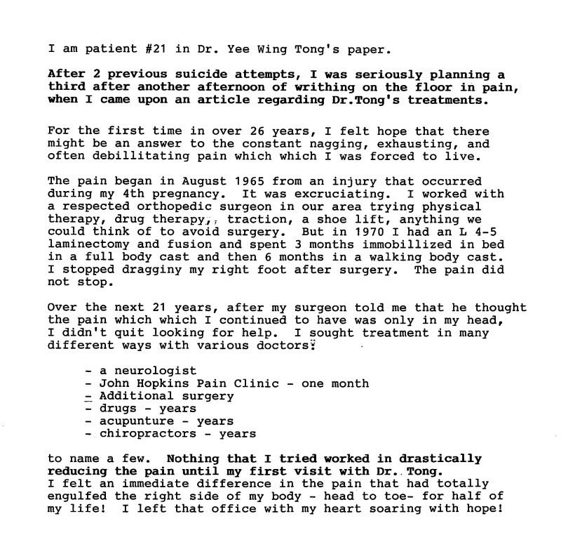 39 - Dr Tong Testimonial Letter
