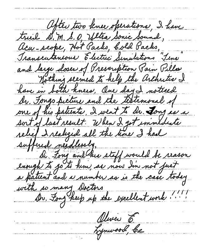 43 - Dr Tong Testimonial Letter