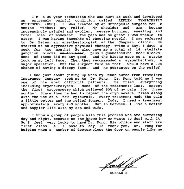 51 - Dr Tong Testimonial Letter