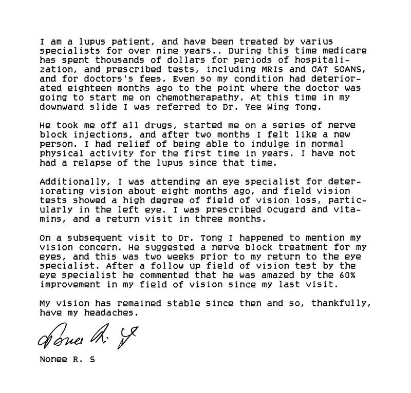 54 - Dr Tong Testimonial Letter