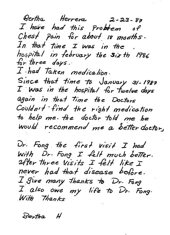55 - Dr Tong Testimonial Letter
