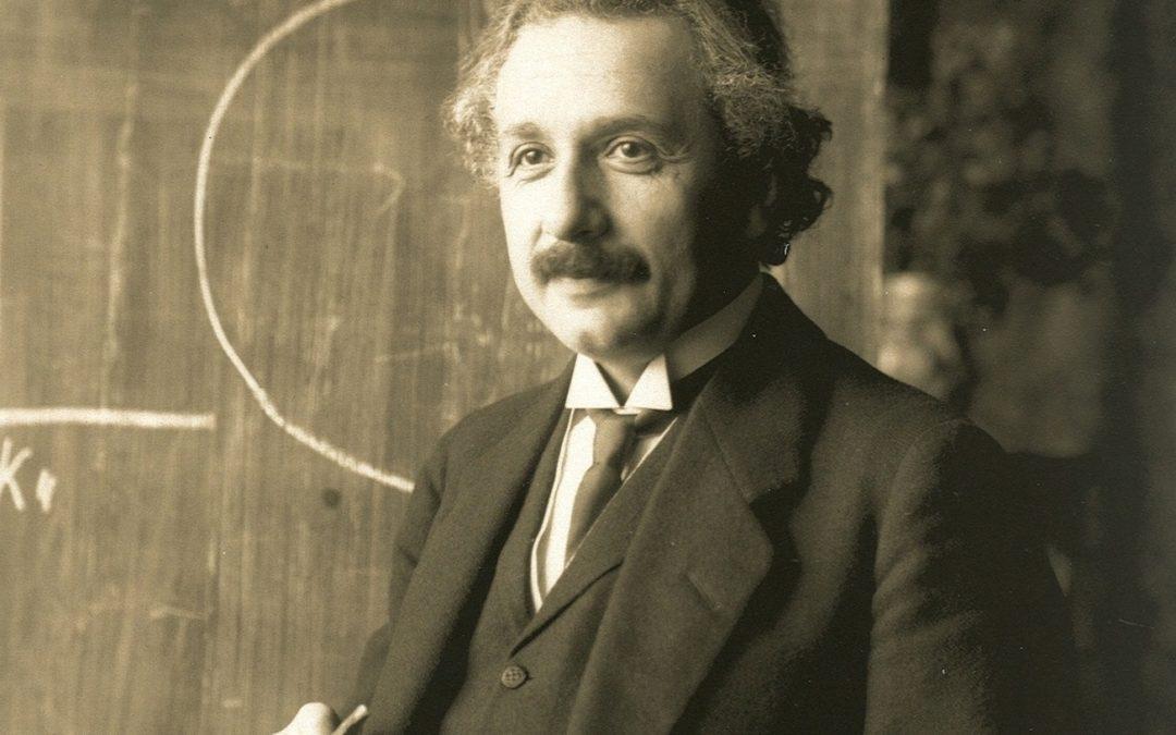 爱因斯坦证实了中国的智慧
